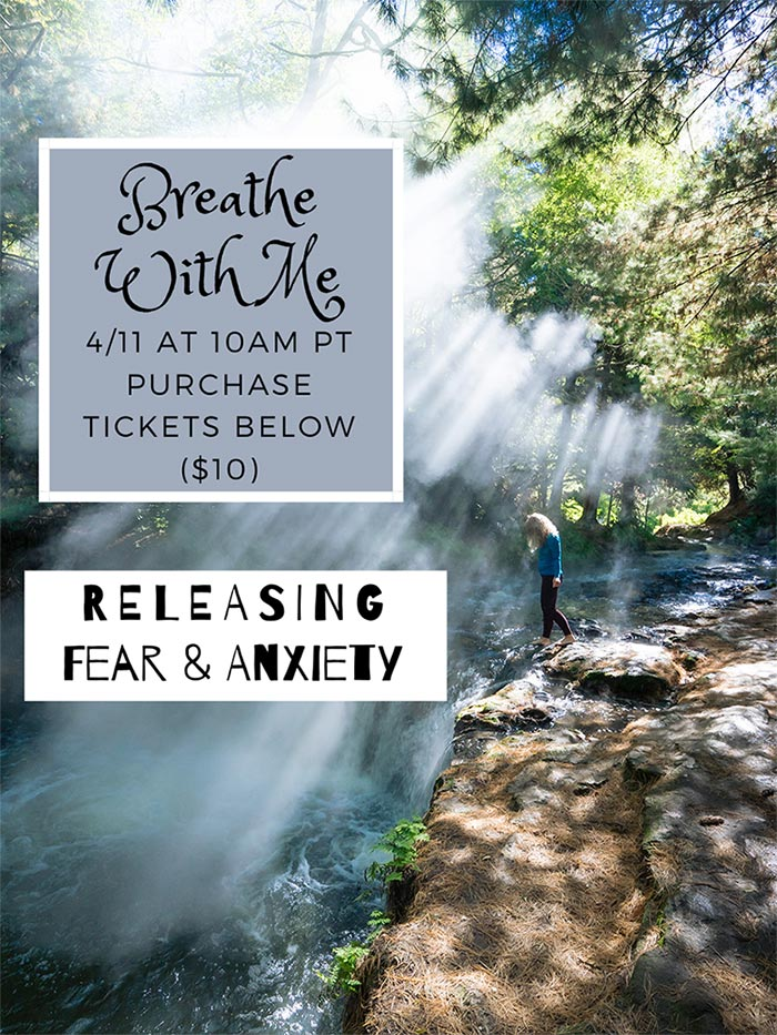Virtual Breathwork For Releasing Fear & Anxiety – April 11, 2020